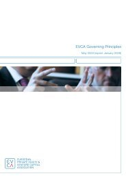 EVCA Governing Principles