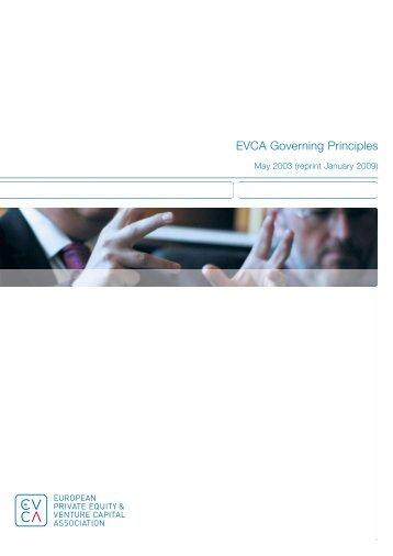 EVCA Governing Principles