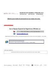 boletin de ofertas num 28 r - invierno & primavera 2013 - hoteles ...