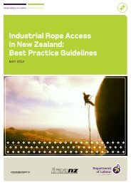 Industrial rope access in New Zealand: best ... - Business.govt.nz