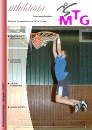 V ereinsnachrichten - Ausgabe 1/2007 - MTG Horst