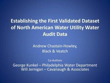 Establishing the First Validated Dataset of North ... - Iwa-waterloss.org