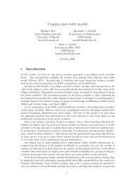 Copulas and credit models