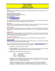 Quick Fact of Macau PATA Travel Mart September 14-17, 2010 ...