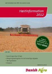 Høstinformation 2012 - Danish Agro