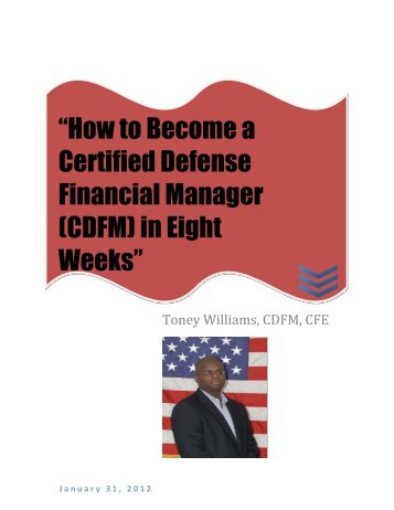 """How to Become a Certified Defense Financial Manager (CDFM) in ..."
