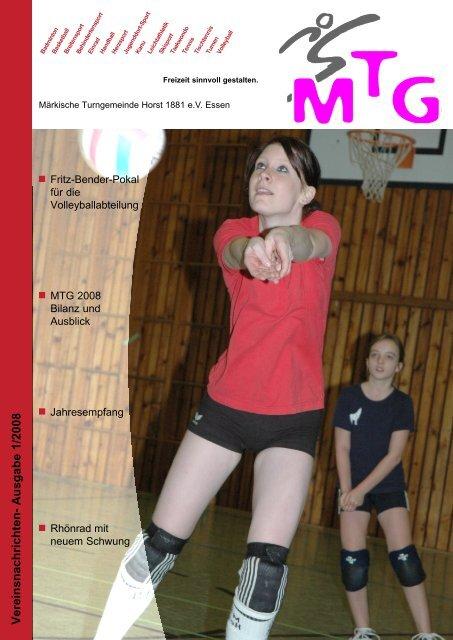 Vereinsnachrichten- Ausgabe 1/2008 - MTG Horst