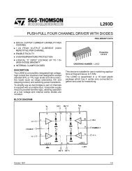L293D - PUSH-PULL FOUR CHANNEL DRIVER WITH ... - Ikalogic