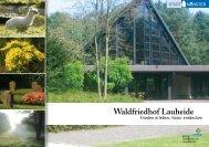 Waldfriedhof Lauheide - Frieden erleben, Natur entdecken - Münster