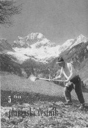 Maj - Planinski Vestnik