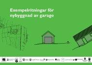 Exempelritning garage - Danderyds kommun