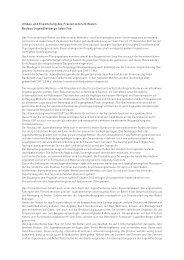 Pressetext: Umbau und Erweiterung des Freizeitzentrum Bielen sowie