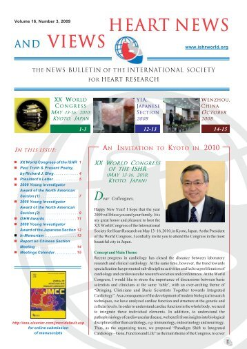 Volume 16, Number 3 - International Society for Heart Research
