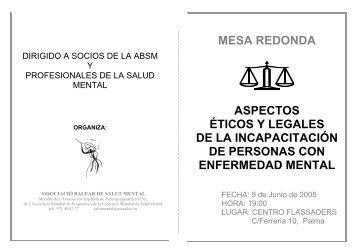 Mesa Redonda - Asociación Española de Neuropsiquiatría