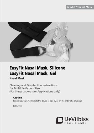 Easyfit Nasal Sslt 2063revcpdf Devilbiss Healthcare