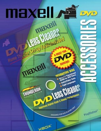 DVD Accessories - Maxell Canada