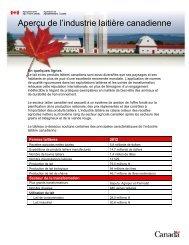 Version PDF , 697 KO - Centre canadien d'information laitière