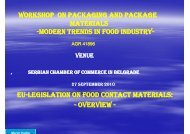 modern trends in food industry modern trends in food industry