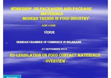 modern trends in food industry modern trends in food industry