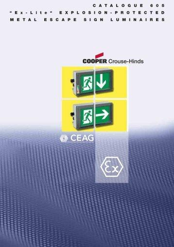 "C A T A L O G U E 6 0 5 "" E x - L i t e ... - Safeexit A/S"