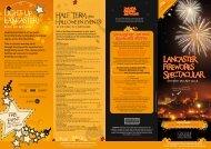 Lancaster Fireworks Spectacular Lancaster ... - Visit Lancashire
