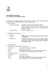 PENGUMUMAN PENGADAAN No. 147100.Peng/LG.01.00/SBU2 ...