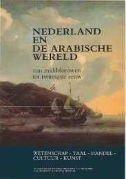 NEDERLAND EN DE ARABISCHE WERELD - Nikolaos van Dam