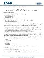 HPI-4N_ Ordering Specification - Esco