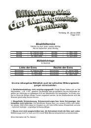 Mitteilungsblatt Jänner 2008 - Ternberg