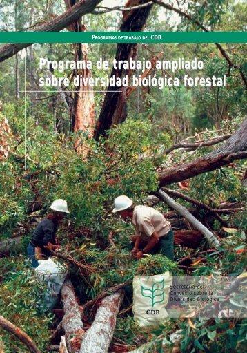 Programa de trabajo ampliado sobre diversidad biológica forestal