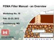FEMA Filter Manual