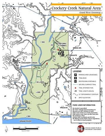 Park Map - Ottawa County