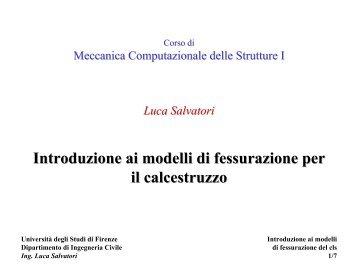 w - Università degli Studi di Firenze