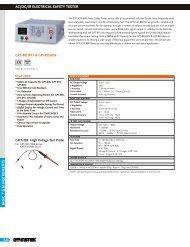 Brochure & Technical Specifications - Miko-Kings Instruments Ltd