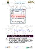 Procedimentos para instalação em rede – DES 3.0 - Page 7