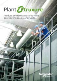 Produce efficiently and safely while contributing ... - Schneider Electric