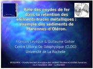 Diaporama - Université de La Rochelle