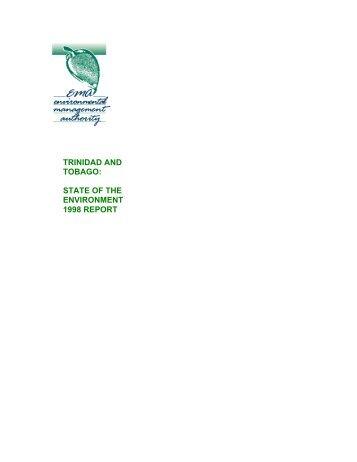SOE 1998, Water - Environmental Management Authority