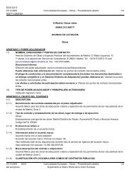 Works - Contract notice - 309771-2009 - ES - Globalconstroi