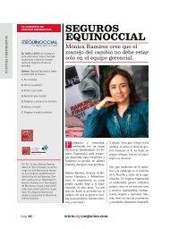 Buenas prácticas/ Seguros Equinoccial. Edicion ... - Ekos Negocios