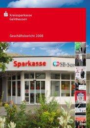 Bericht des Verwaltungsrates - Kreissparkasse Gelnhausen