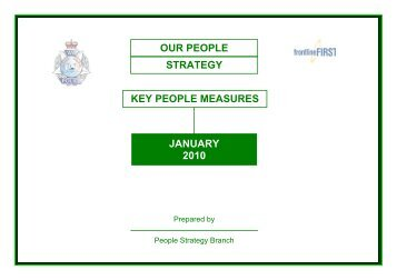 Key People Measures Report - Public Sector Commission