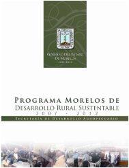 Programa Morelos de Desarrollo Rural Sustentable - OEIDRUS ...