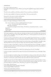 ZONDERVAN Four Views on Divine Providence Copyright © 2011 ...