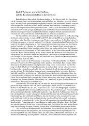 Rudolf Schwarz und sein Einfluss auf die Kirchenarchitektur in der ...