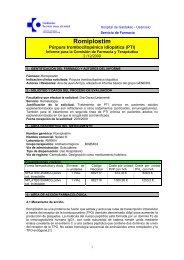Modelo de informe de evaluación - Sociedad Española de Farmacia ...