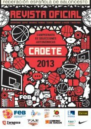 Revista oficial - Federación Española de Baloncesto
