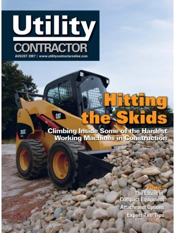 View Full August PDF Issue - Utility Contractor Online