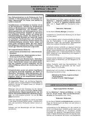 Amtsblatt Kultus und Unterricht Nr. 5/2010vom 1. März ... - Kultusportal