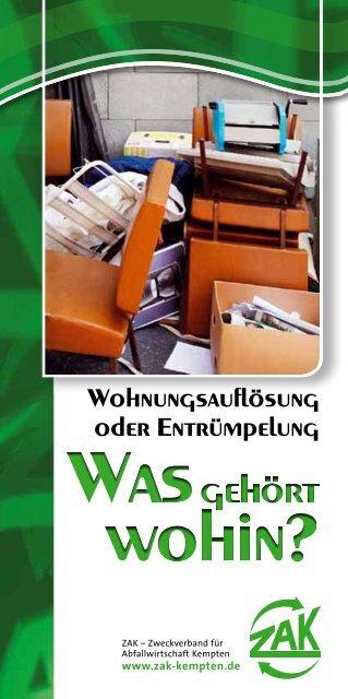 Faltblatt - ZAK
